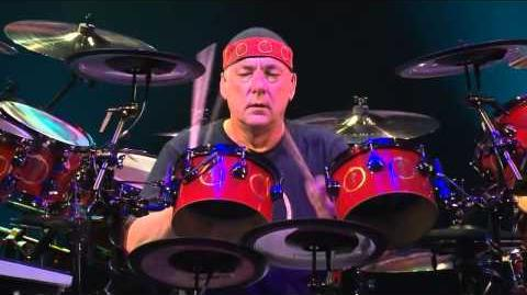 Neil Peart Drum Solo 2014