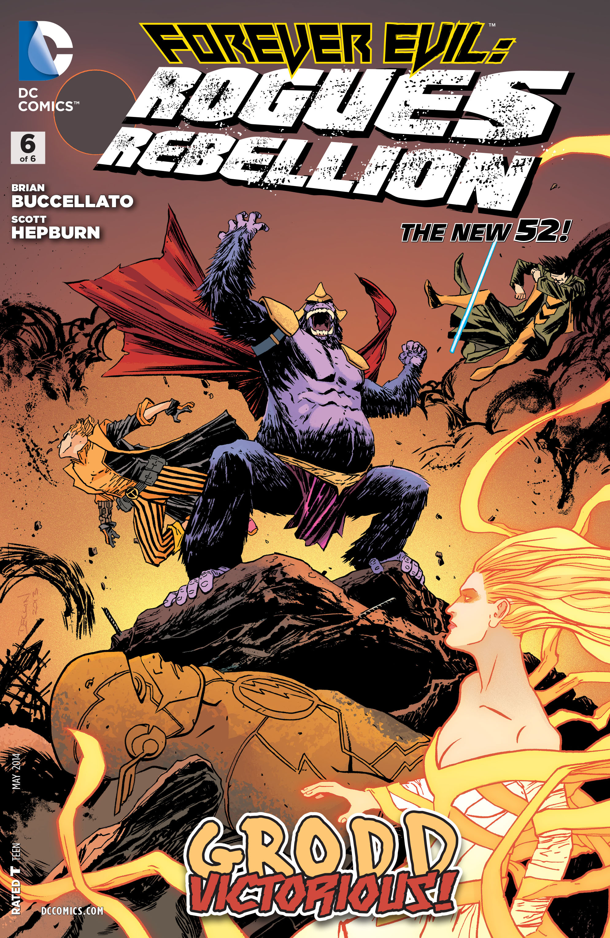Forever Evil: Rogues Rebellion Vol 1 6