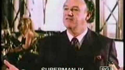 Superman IV ( Trailer ) 1987