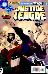 JUSTICE LEAGUE UNLIMITED Comic # 11 Aquaman SOLD OUT