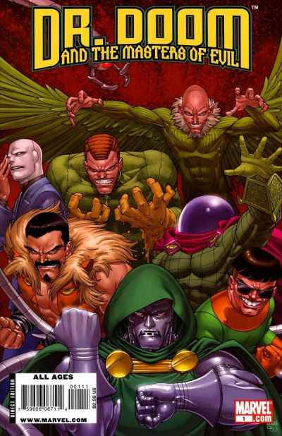 Doctor Doom and the Masters of Evil