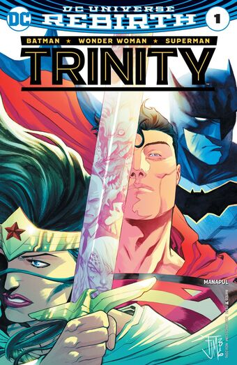 TRINITY VOLUME 4 THE SEARCH FOR STEVE TREVOR GRAPHIC NOVEL Collects #17-22