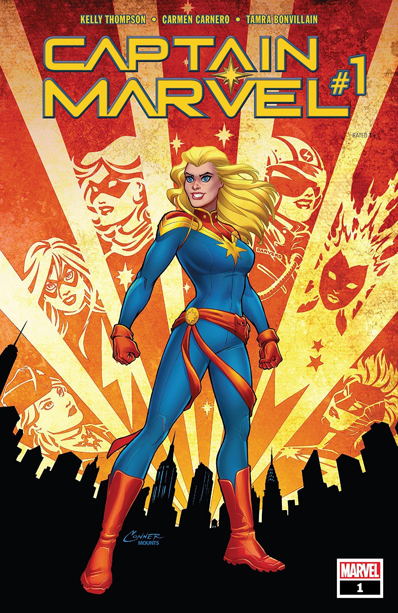 Captain Marvel   Comic Book Series   Fandom