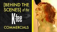Behind the scenes of the K-fee commercials