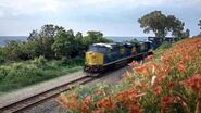 CSX Commercial with Devil's Lake