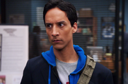 CAP Abed decides to send the group a message