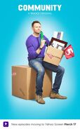 Community Season Six Jeff Winger promotional poster