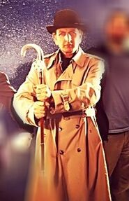 Inspector Spacetime Inspector cane