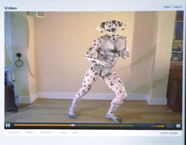 Dean Pelton's Dalmatian fetish