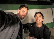 Joel McHale TV Insider Community Season Six Selfies 3