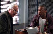 Pierce and MC Dan Harmon rap