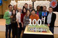 Cast of Season Six celebrate 100 episodes