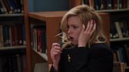 CAP Abed puts gum in Brittas hair