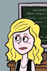 Deans cartoon britta