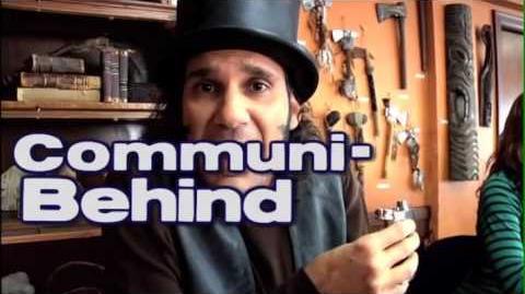 """Community Presents Behind the Scenes-nity"""