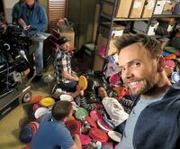 Joel McHale TV Insider Community Season Six Selfies 4