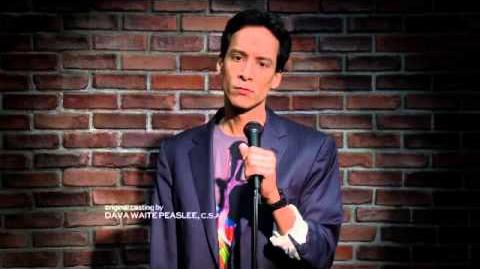 Abed's stand up comedy routine - Community