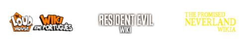 Wordmarks desenvolvidos para Wikis em Português