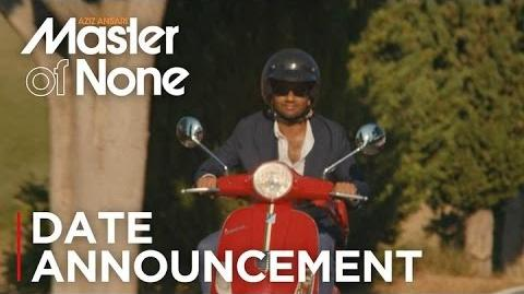 Master of None Season 2 Date Announcement HD Netflix
