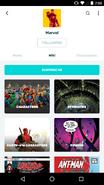 Android FANDOM app - fandom screen