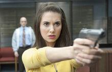 Conspiracy theories and Interior Designs Annie Points Gun.jpeg