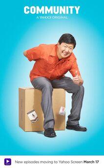 Community Season Six Ben Chang promotional poster