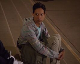 1x1 Abed on Steps