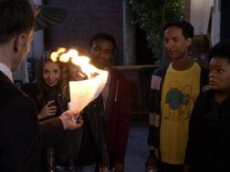 5x01-Jeff Annie Britta Troy Abed Shirley fire.jpg