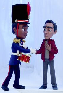 Troy and Abed animated