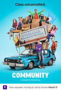 Season Six promotional poster