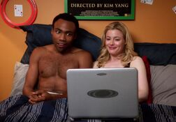 4X3 Troy and Britta watching the Inspector.jpg