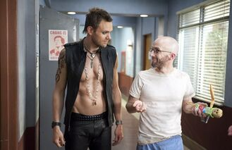 3X21 Jeff Angl and Dean Pelton