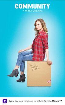 Community Season Six Britta Perry promotional photo