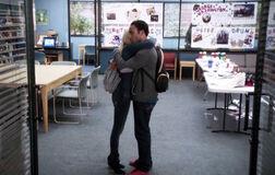 4X11 Troy and Britta hug.jpg