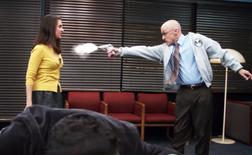CTAID Dean Pelton shoots Annie.png