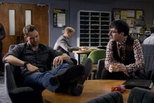 5X7 Jeff and Duncan in Teachers lounge.jpg