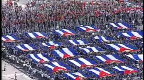 CUBAVISION - DESFILE DEL 1 DE MAYO DE 2010 - LA INTERNACIONAL