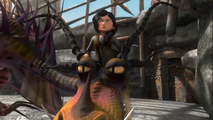 Astrid con un pesadilla