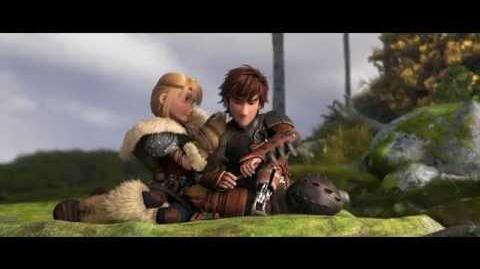 """HOW TO TRAIN YOUR DRAGON 2 - """"Hiccup & Astrid"""" Clip"""