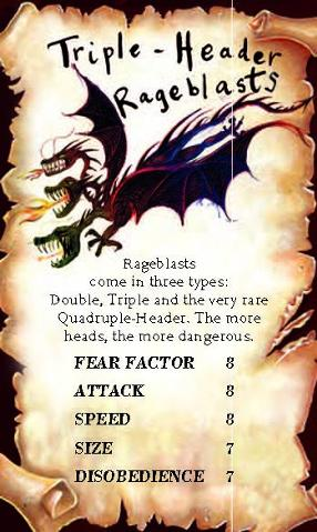 Triple-Header Rageblast