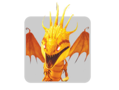 Dragons icon fireworm