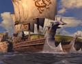 Barcos de Cazadores de Dragones