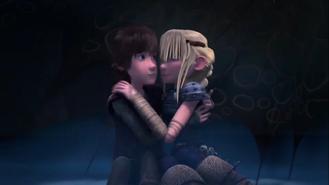 Astrid e Hipo en el Hielo