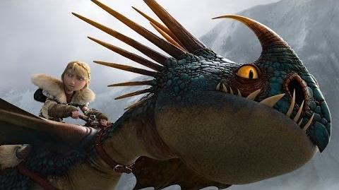 """HOW TO TRAIN YOUR DRAGON 2 - """"Storm Fly Fetch"""" Clip"""