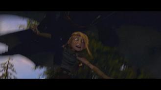Chimuelo se lleva a Astrid