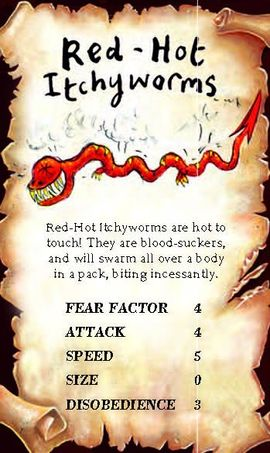 Red Hot Itchyworm