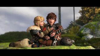 HOW TO TRAIN YOUR DRAGON 2 - Hiccup & Astrid Clip 63021