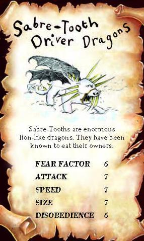 Saber-Tooth Driver Dragon