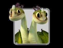 Dragons icon baby zipplebacks