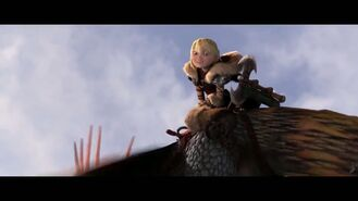 How To Train Your Dragon 2 Movie CLIP - Stormfly Fetch 2014 - Gerard Butler Sequel HD 14306